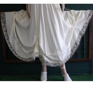 ROZINA - romantikus hosszú-szoknya - ruha & divat - női ruha - szoknya - Meska.hu