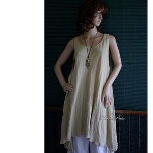 KARLA -  lagenlook viszkóz tunika - ruha & divat - női ruha - tunika - Meska.hu