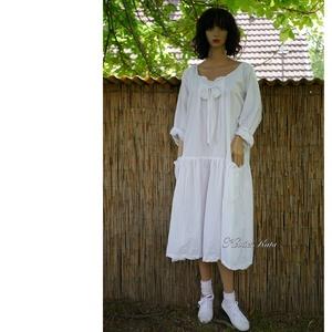 IBI-RUHA - lagenlook flapper-ruha / puplin - ruha & divat - női ruha - ruha - Meska.hu