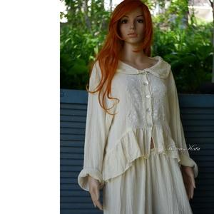 VILMA - romantikus design kabátka , Ruha & Divat, Női ruha, Blúz, Varrás, Meska
