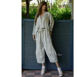 FANCY-SZETT - design nadrágkosztüm - ruha & divat - női ruha - blézer & kosztüm - Meska.hu