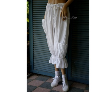ELVIRA - lagenlook design nadrág, bugyogó  - ruha & divat - női ruha - nadrág - Meska.hu