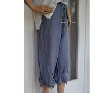 LEVELES LEN-NACI - shabby design nadrág - ruha & divat - női ruha - nadrág - Meska.hu