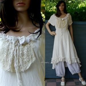 EMMY-LEVI - shabby chic design-ruha , Ruha & Divat, Női ruha, Ruha, Varrás, Meska