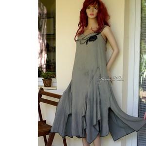 DORISZ - artsy design-ruha, Ruha & Divat, Női ruha, Ruha, Festett tárgyak, Varrás, Meska