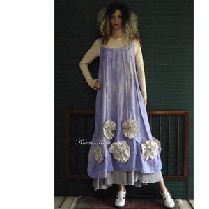 PITYPANGOS - shabby chic design kötényruha - ruha & divat - női ruha - ruha - Meska.hu