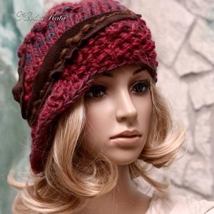 CLOCHE-ART kötött kalap, sapka - Meska.hu