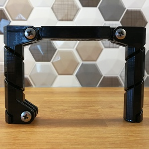 Kite line GoPro akció kamera mount tartó kiteboard kitesurf linemount ASA, Táska & Tok, Laptop & Tablettartó, Kameratáska, Mindenmás, Legjobb kiteline mount a pacion:\n- 3D FDM technológiával gyártott.\n- Minden egyes eleme ellenáll az ..., Meska