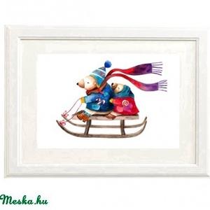 Itt a karácsony! 2. - Print (Akvarell) (bubadesign) - Meska.hu