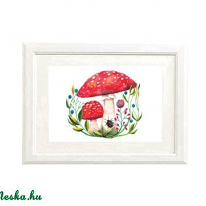 Gombák - Print (Akvarell) (bubadesign) - Meska.hu