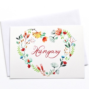 Hungary - Képeslap borítékkal (A/6) (bubadesign) - Meska.hu
