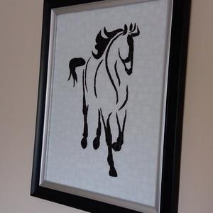 Mozaik ló falikép (bubantne) - Meska.hu