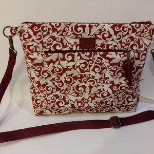 Vászon táska női táska, Táska, Táska, Divat & Szépség, Varrás, Közepes méretű vászon táska, Meska