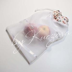 Öko táska, tasak, zacskó, zsák,  nylon helyett, zero waste, nulla hulladék, Táska & Tok, Bevásárlás & Shopper táska, Zöldség/Gyümölcs zsák, Varrás, Meska