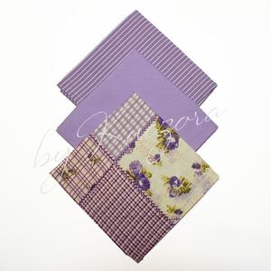 Textil zsebkendő szett, öko zsebkendő szett - rózsaszín, Szépségápolás, Egészségmegőrzés, Varrás, Textil zsebkendő - öko zsebkendő - rózsaszín\n\nFinom pamutvászonból készült zsebkendő szett, mely 3 d..., Meska