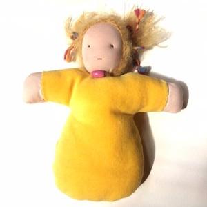 Waldorf alvó baba 25 cm , Gyerek & játék, Játék, Baba játék, Baba-és bábkészítés, Rendelésre is, változatos színben és hajviselettel készülnek folyamatosan a jellegzetes , bébiplüssb..., Meska