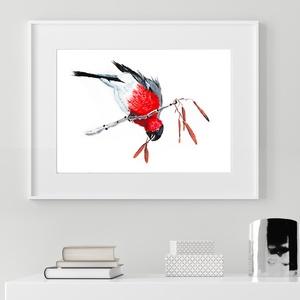 Süvöltő #01: nyomtatható pdf vagy papír nyomat, Otthon & lakás, Dekoráció, Kép, Lakberendezés, Falikép, Fotó, grafika, rajz, illusztráció, ♥ Az eredeti akryl festmény alapján készült pdf vagy nyomat.\n\n♥ A vásárlás után 12 órán belül Meska ..., Meska