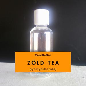 CandleBar Zöld Tea illatolaj gyertya illatosításához 10gr - Meska.hu