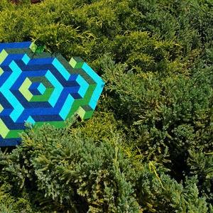 Textil mozaik matrica készlet - OP-ART I. (carawonga) - Meska.hu