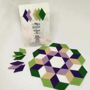 Mozaik matrica csomag 4. 60 db, Játék, Gyerek & játék, Készségfejlesztő játék, Mozaik, A caraWonga mozaik matricák egy 60 db-os készlet, mely öntapadós, színes textil mozaik darabkákat ta..., Meska