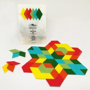 Mozaik matrica csomag 5. 60 db , Játék, Gyerek & játék, Készségfejlesztő játék, Mozaik, A caraWonga mozaik matricák egy 60 db-os készlet, mely öntapadós, színes textil mozaik darabkákat ta..., Meska