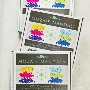 Mozaik mandala – hármas csomag, DIY (Csináld magad), Egységcsomag, Mozaik, A csomag 3 db mandala készítő készletet tartalmaz. A készletek színei szabadon választhatók.\n\nSzeret..., Meska