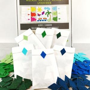 Mozaik matrica csomag GYEREKEKNEK 3., DIY (Csináld magad), Egységcsomag, Mozaik, Újrahasznosított alapanyagból készült termékek, A caraWonga mozaik matricáin keresztül az alkotás örömét tapasztalják meg a gyerekek..\nEmellett fejl..., Meska