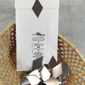 Mozaik matrica EZÜST, DIY (Csináld magad), Egységcsomag, Mozaik, Újrahasznosított alapanyagból készült termékek, Az ezüst mozaik matrica egy 30 db-os készlet, mely öntapadós, ezüst mozaik matricákat tartalmaz. A m..., Meska