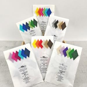 Mozaik matrica – hatos csomag, DIY (Csináld magad), Egységcsomag, Mozaik, Újrahasznosított alapanyagból készült termékek, A csomag 6 darab mozaik matrica készletet tartalmaz, mely öntapadós, színes textil mozaik matricákat..., Meska