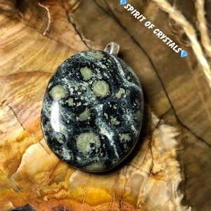 Kambaba Jáspis talizmán 3 milliárd éves algakövület, Ékszer, Nyaklánc, Medál, Ékszerkészítés, Meska