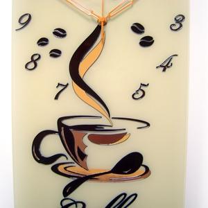 Kávé falióra - coffee (cecameca) - Meska.hu