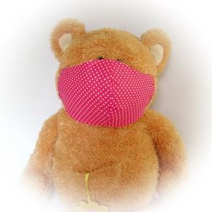 Női szájmaszk / arcmaszk, pink, mosható egészségügyi maszk (cecameca) - Meska.hu