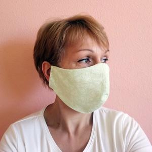 Szájmaszk betét zsebbel, zöld szivecskés arcmaszk, mosható egészségügyi maszk, NoWaste, Táska, Divat & Szépség, Textilek, Ruha, divat, Maszk, szájmaszk, Szépség(ápolás), Mosható, vasalható, formatartó, újra felhasználható, igényes kivitelezésű szájmaszk, kétrétegű pamut..., Meska
