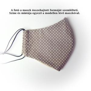Szájmaszk betét zsebbel, zöld szivecskés arcmaszk, mosható egészségügyi maszk (cecameca) - Meska.hu