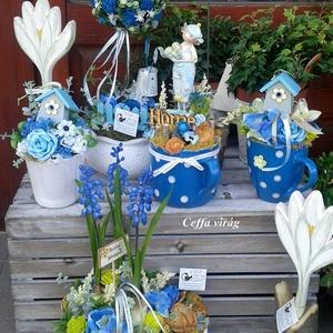 Kék gyöngyike - a tavasz hírnöke (Ceffa) - Meska.hu