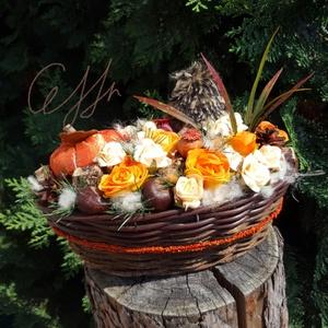 Sünis őszi kosár (Ceffa) - Meska.hu