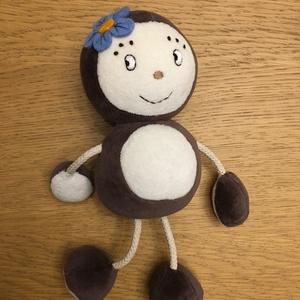 Tipptopp, Gyerek & játék, Játék, Plüssállat, rongyjáték, Barna és krémszínű plüssből készítettem Tipptopp figurát, hogy Kippkopp ne érezze magát egyedül. Mag..., Meska