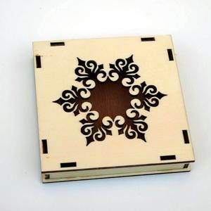 Ajándékdoboz díszdoboz karácsony fa doboz , Dekoráció, Otthon & lakás, Ünnepi dekoráció, Karácsony, Famegmunkálás, Natúr fadoboz, ajándék doboz karácsonyra. Kézzel és lézerrel készített magyar termék fából.\nVálaszth..., Meska