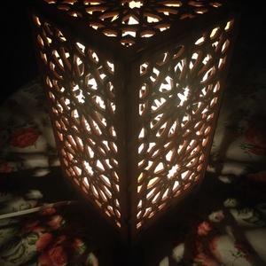 Marokkói mintás asztali lámpa, hangulatvilágítás (Cerving) - Meska.hu