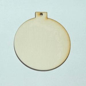 """Fa karácsonyi natúr dísz \""""gömb\"""" 6 cm 100 Ft/db, Dekorációs kellékek, Fa, Famegmunkálás, Fából készült natúr dísz.\nAz ár 8 db-ra együtt értendő.\n\nMérete: 6 cm\n\nKérésre egyedi igény szerint ..., Meska"""