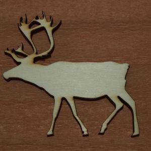 Fa rénszarvas - 4 db - 150 Ft/db, Dekorációs kellékek, Fa, Famegmunkálás, Fából készült natúr szán.\nAz ár 4 db-ra együtt értendő.\n\nMérete: 5 cm\n\nKérésre egyedi méretben is el..., Meska