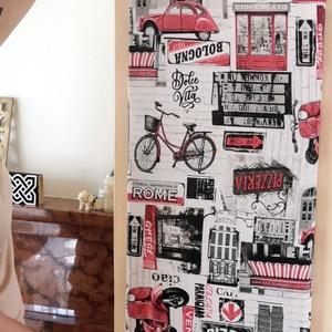 Textil fali dekoráció, Otthon & lakás, Dekoráció, Falmatrica, Famegmunkálás, Varrás, Falra tehető dekorelem, ami több féle választható dekortextíl (vagy bármilyen textília lehet a megre..., Meska