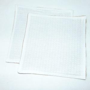 Konyhai törlőkendő , NoWaste, Textilek, Kendő, Varrás, A törlőkendő két oldala más-más anyagból készült. Az egyik juta szövet, a másik pamut darázsvászon.\n..., Meska