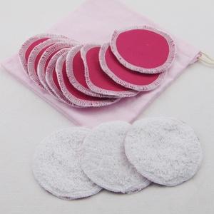 Arctisztító korong tasival ( 12 db ) / textil sminktörlő korong.  Többször használható arctisztító pamacs, NoWaste, Textilek, Pamut arctisztító, Táska, Divat & Szépség, Szépség(ápolás), Fürdőszobai kellék, Varrás, -Többször felhasználható, egyedi, puha, textil arctisztító korongok, zsákocskával.\n-pink\n-mosható, t..., Meska