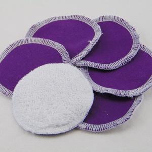 Arctisztító korongok ( 6 db/ cs ) / textil sminktörlő korong.  Többször használható arctisztító pamacs, NoWaste, Textilek, Pamut arctisztító, Táska, Divat & Szépség, Szépség(ápolás), Fürdőszobai kellék, Varrás, -Többször felhasználható, egyedi, puha, textil arctisztító korongok.\n-Minnie mintás\n-mosható, tisztí..., Meska