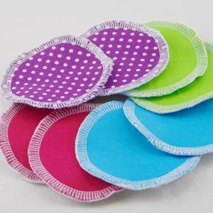 Arctisztító korongok ( 8 db/ cs ) / textil sminktörlő korong.  Többször használható arctisztító pamacs, NoWaste, Textilek, Pamut arctisztító, Táska, Divat & Szépség, Szépség(ápolás), Fürdőszobai kellék, Varrás, -Többször felhasználható, egyedi, puha, textil arctisztító korongok.\n-vegyes színek\n-mosható, tisztí..., Meska