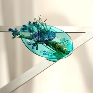 Plabodot Underwater bross - türkiz/kék/zöld (cirrhopp) - Meska.hu