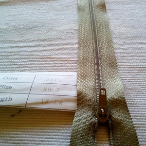 18 cm cipzárak (civikitrom) - Meska.hu