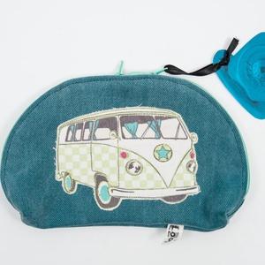 VW neszesszer - Bag-a-tel kollekció, Táska & Tok, Neszesszer, Újrahasznosított alapanyagból készült termékek, Varrás, Meska