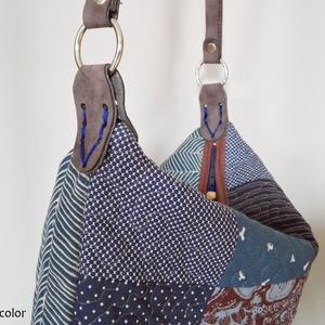 EGYEDI táska bőrfüllel (colette) - Meska.hu